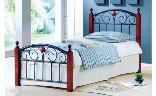 метално единично легло